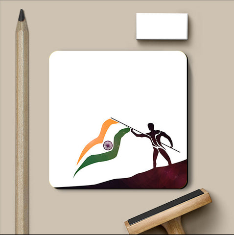 PosterGully Coasters, Independence Day Coaster | Artist: Prashant Negi, - PosterGully