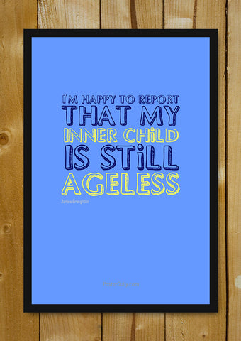 Glass Framed Posters, Inner Child Glass Framed Poster, - PosterGully - 1