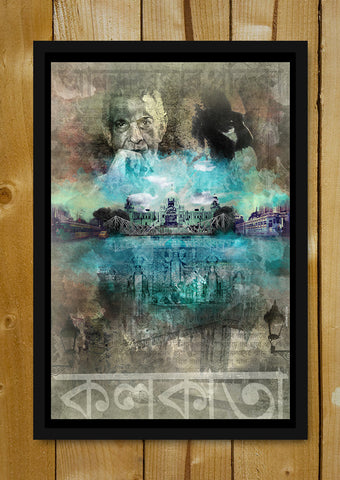 Glass Framed Posters, Inspired By Kolkota  Glass Framed Poster, - PosterGully - 1