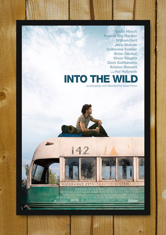 Glass Framed Posters, Into The Wild Glass Framed Poster, - PosterGully - 1