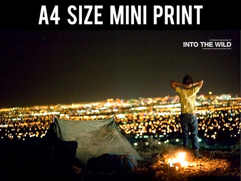 Mini Prints, Into The Wild | Campfire | Mini Print, - PosterGully
