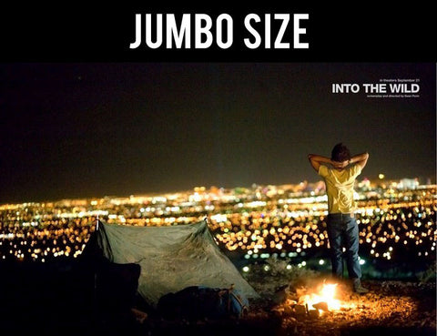 Jumbo Poster, Into The Wild | Campfire | Jumbo Poster, - PosterGully