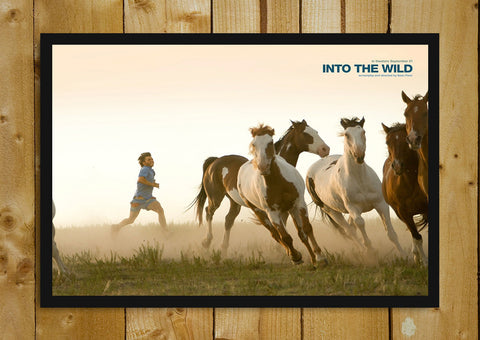 Glass Framed Posters, Into The Wild  Horses Glass Framed Poster, - PosterGully - 1