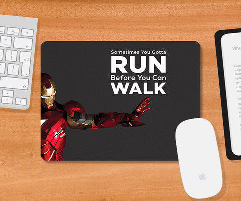 Mousepads, Iron-Man Quote Mousepad | Artist: Rohit Malhotra, - PosterGully