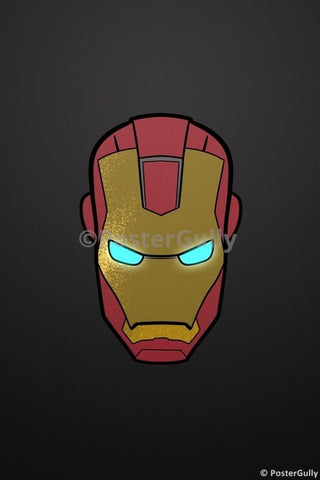 PosterGully Specials, Iron Man Artwork | Oliver, - PosterGully