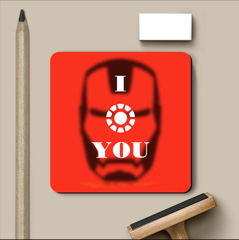 PosterGully Coasters, Ironman Coaster | Artist: Akshay Kamble, - PosterGully