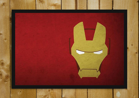 Glass Framed Posters, Ironman Mask Glass Framed Poster, - PosterGully - 1