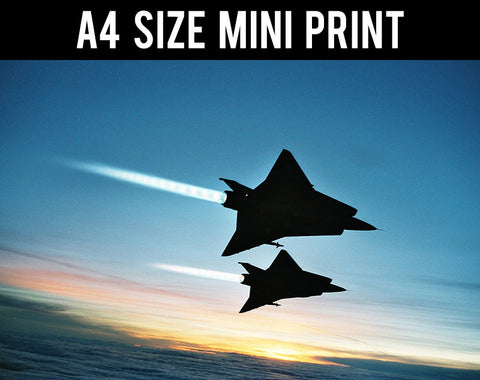 Mini Prints, J 35 Draken | Mini Print, - PosterGully