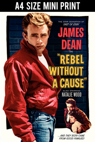 Mini Prints, James Dean | Rebel | Mini Print, - PosterGully