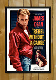 Glass Framed Posters, James Dean Rebel Glass Framed Poster, - PosterGully - 1