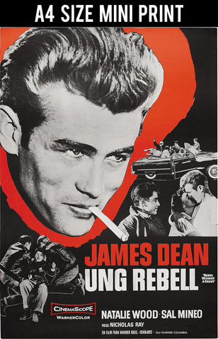 Mini Prints, James Dean | Rebel Without A Cause | Mini Print, - PosterGully