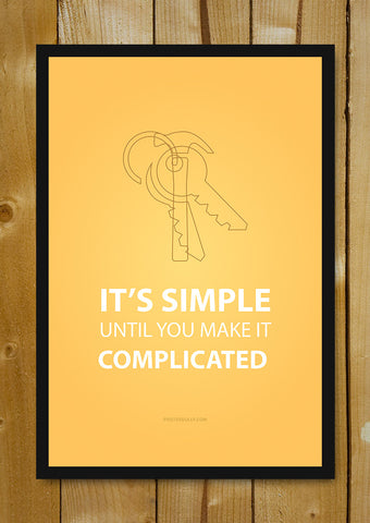 Glass Framed Posters, Jason Fried, CEO of 37 Signals Glass Framed Poster, - PosterGully - 1