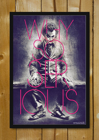Glass Framed Posters, Joker Raj Khatri | Glass Framed Poster, - PosterGully - 1