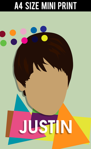 Mini Prints, Justin Beiber | Mini Print, - PosterGully