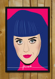 Glass Framed Posters, Katy Perry Firework Glass Framed Poster, - PosterGully - 1