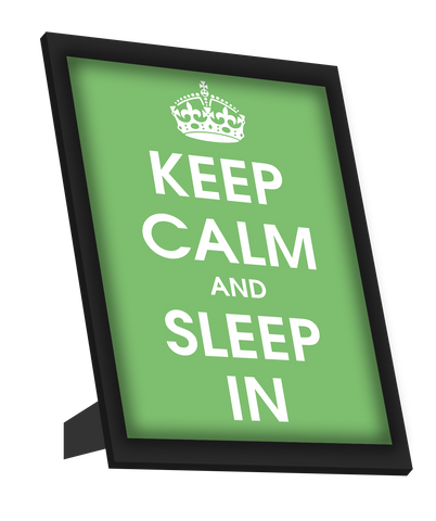 Framed Art, Keep Calm And Sleep In Framed Art, - PosterGully
