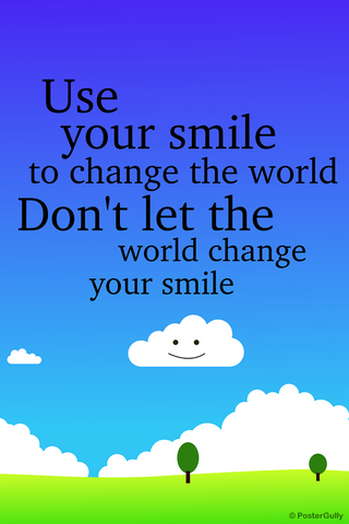 Wall Art, Keep Your Smile, - PosterGully