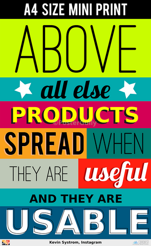 Mini Prints, Kevin Systrom On Products | Mini Print, - PosterGully