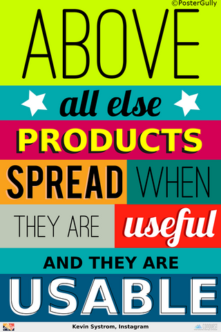 Wall Art, Kevin Systrom On Products, - PosterGully