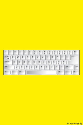 Wall Art, Keyboard, - PosterGully