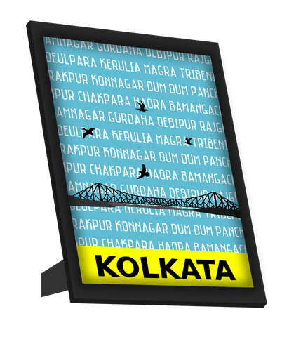 Framed Art, Kolkata Pop Art Framed Art, - PosterGully