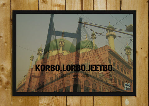 Glass Framed Posters, Korbo. Lorbo. Jeetbo. Glass Framed Poster, - PosterGully - 1