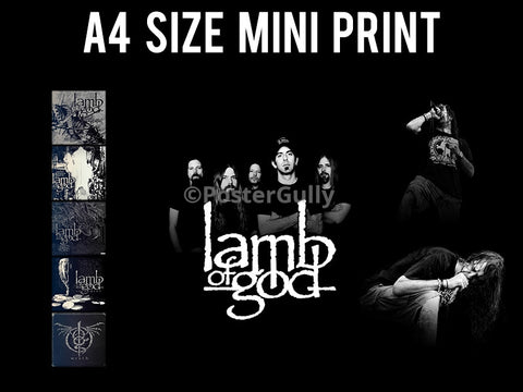 Mini Prints, Lamb Of God | Mini Print, - PosterGully