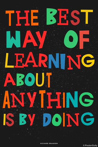 Wall Art, Learning | Richard Branson, - PosterGully