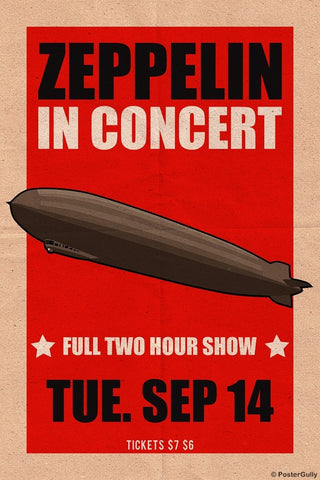 Wall Art, Led Zeppelin | In Concert, - PosterGully