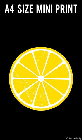 Mini Prints, Lemon Humour  | Mini Print, - PosterGully