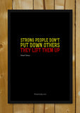 Glass Framed Posters, Life People Up. Glass Framed Poster, - PosterGully - 1