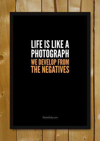 Glass Framed Posters, Life=Photograph Glass Framed Poster, - PosterGully - 1