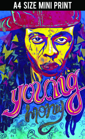 Mini Prints, Lil Wayne | Young Money | Mini Print, - PosterGully