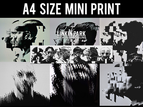 Mini Prints, Linkin Park | Abstract Art Poster | Mini Print, - PosterGully