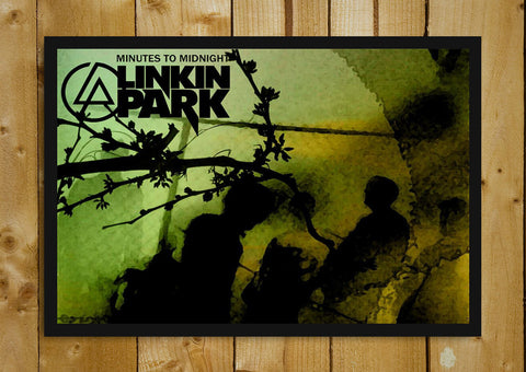 Glass Framed Posters, Linkin Park Minutes to Midnight Glass Framed Poster, - PosterGully - 1
