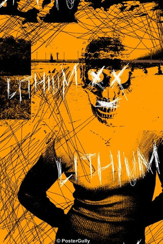 Wall Art, Lithium | Nirvana | Grunge, - PosterGully