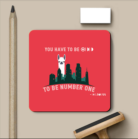 PosterGully Coasters, Llama Coaster | Artist: Jaiwant Pradhan, - PosterGully