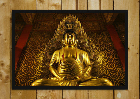 Glass Framed Posters, Lord Buddha Glass Framed Poster, - PosterGully - 1