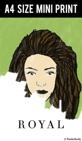 Mini Prints, Lorde | Royals | Mini Print, - PosterGully