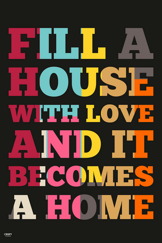 Wall Art, Love In Home, - PosterGully