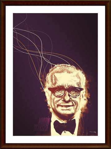 Wall Art, Martin Scorsese Artwork, - PosterGully