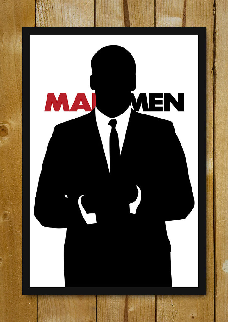 Buy framed posters online shopping india mad men black and white glass framed poster postergully