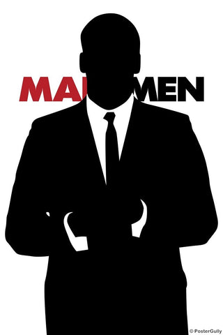 Wall Art, Mad Men | Black And White, - PosterGully