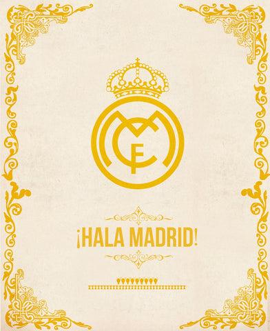 PosterGully Specials, Real Madrid | Minimal Art, - PosterGully