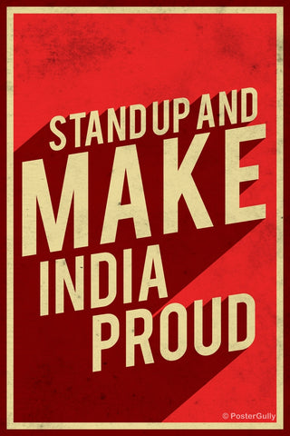 Wall Art, Make India Proud, - PosterGully