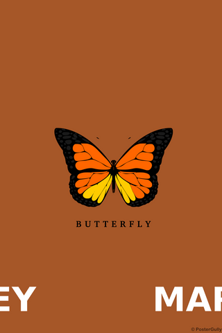 Wall Art, Mariah Carey Butterfly, - PosterGully