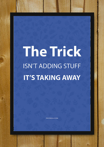 Glass Framed Posters, Mark Zuckerberg, CEO of Facebook The Trick Glass Framed Poster, - PosterGully - 1
