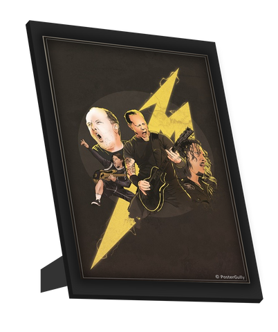 Framed Art, Metallica Artwork Jha Brothers Framed Art, - PosterGully