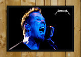 Glass Framed Posters, Metallica Live in Action Glass Framed Poster, - PosterGully - 1
