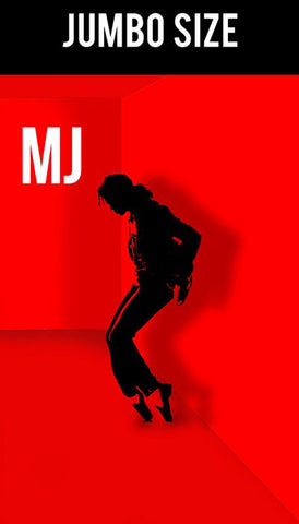 Jumbo Poster, Michael Jackson Red Artwork | Jumbo Poster, - PosterGully